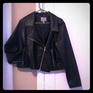 ASOS Curvy Vegan Leather Rocket Jacket